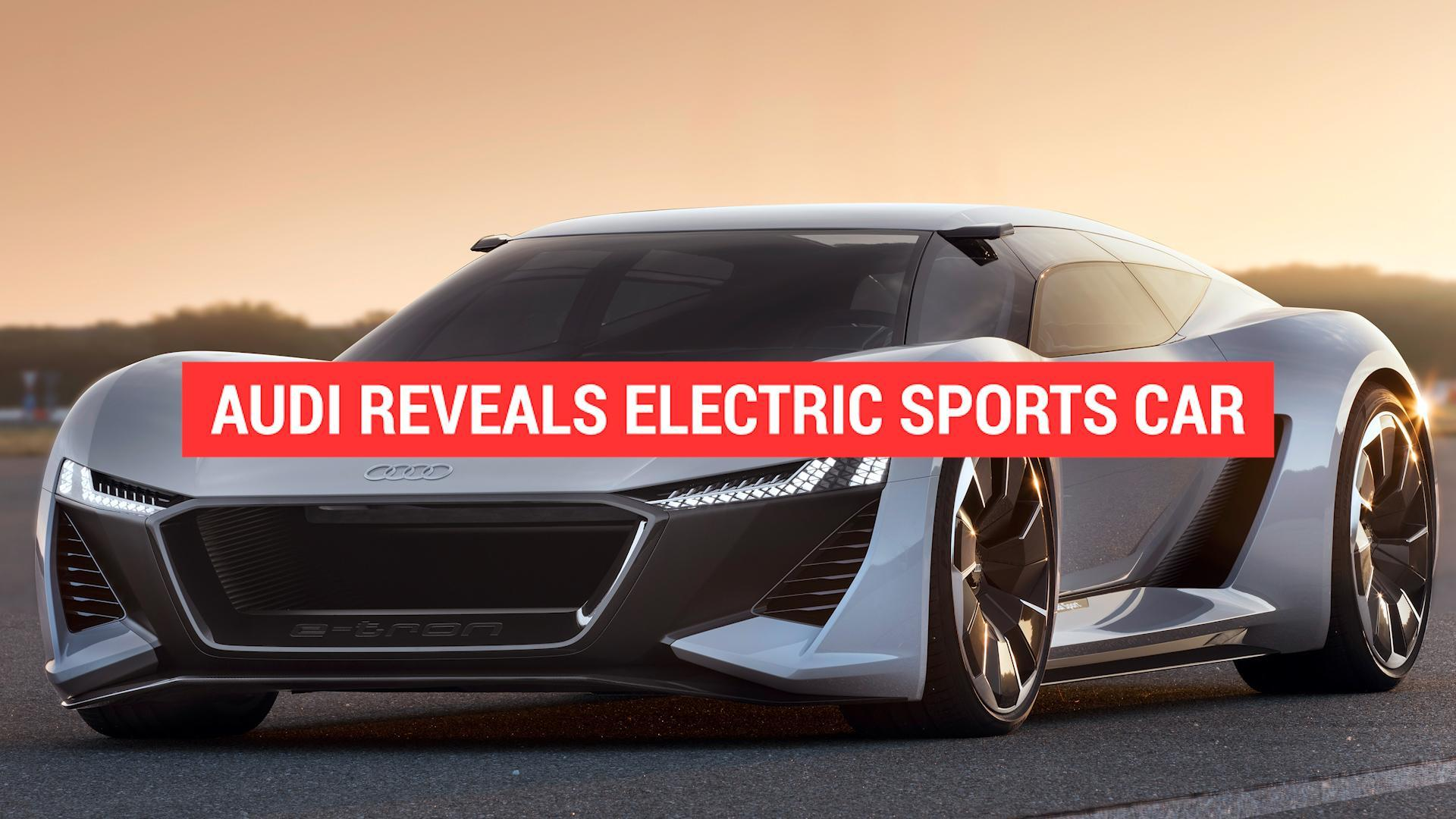2020 Audi E Tron Gt Will Accommodate 350 Kw Fast Charging Autoblog