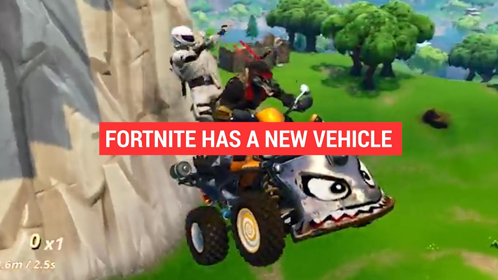 Fortnite has introduced a new vehicle