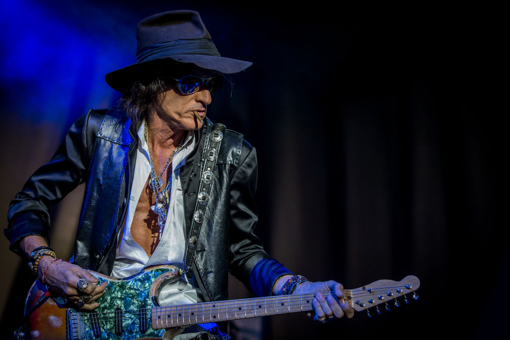 Aerosmith's Joe Perry is 'awake and alert' after being hospitalized for 'shortness of breath'
