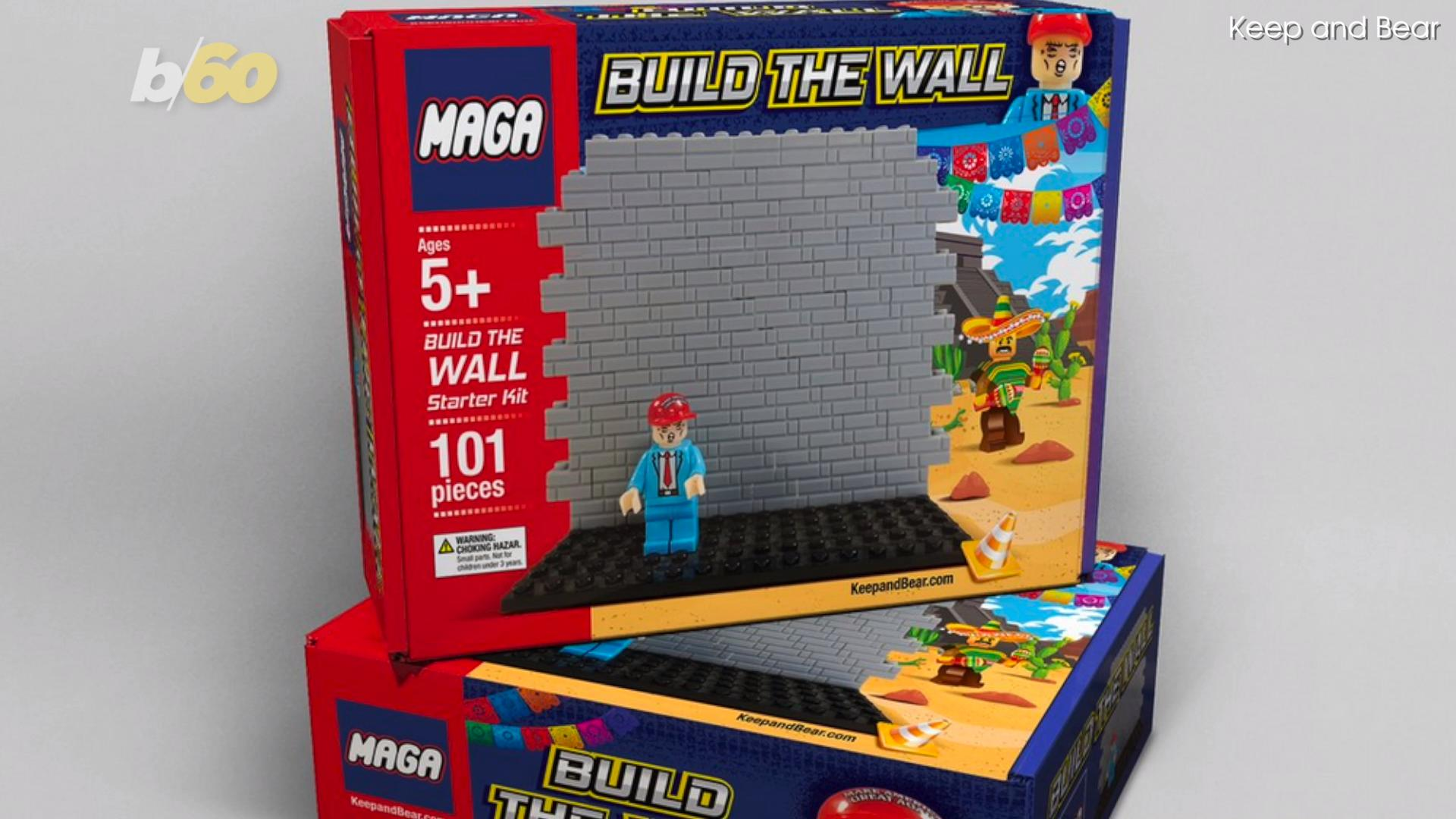 MAGA building blocks set allows children to 'build the wall'