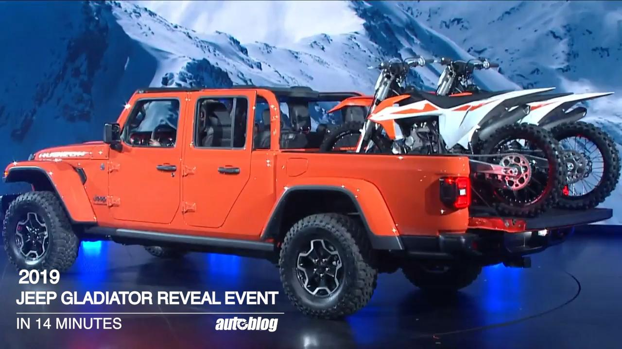 Jeep With Truck Bed >> Jeep Gladiator Pickup S Bed Video Reveals Some Work Truck