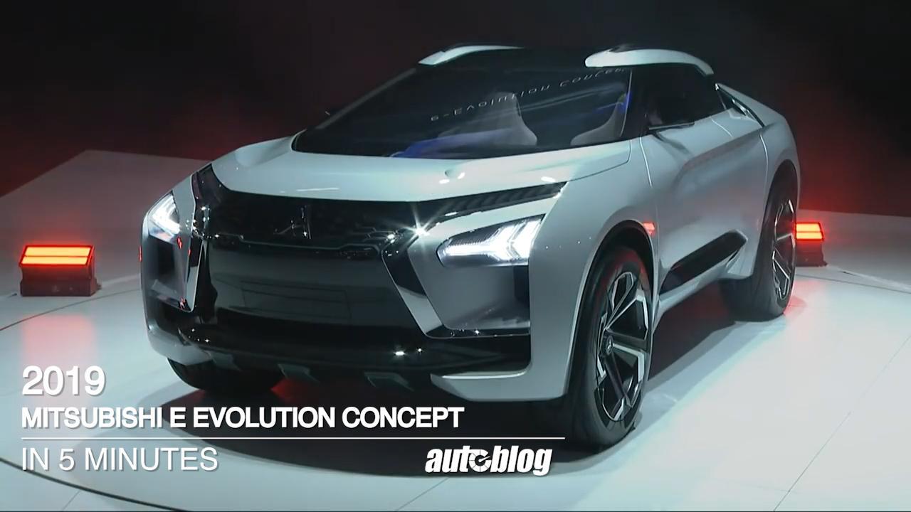 Mitsubishi Electric Suv Teased Ahead Of 2019 Geneva Motor Show Autoblog