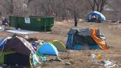 Colorado Springs Cleans Up Homeless Camp