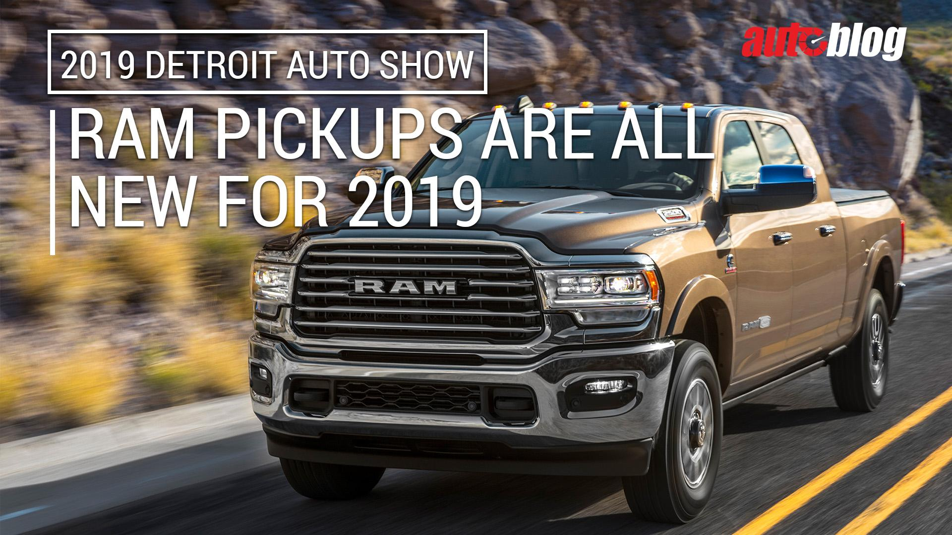 2019 Ram Heavy Duty Is Heavy With Features Gets 1000 Lb Ft Cummins