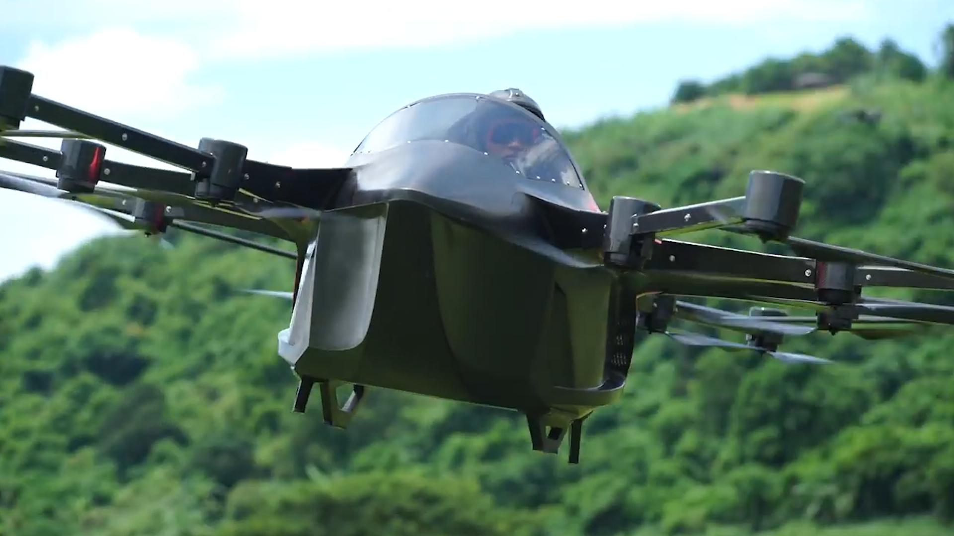 Would you drive a 'flying car?'