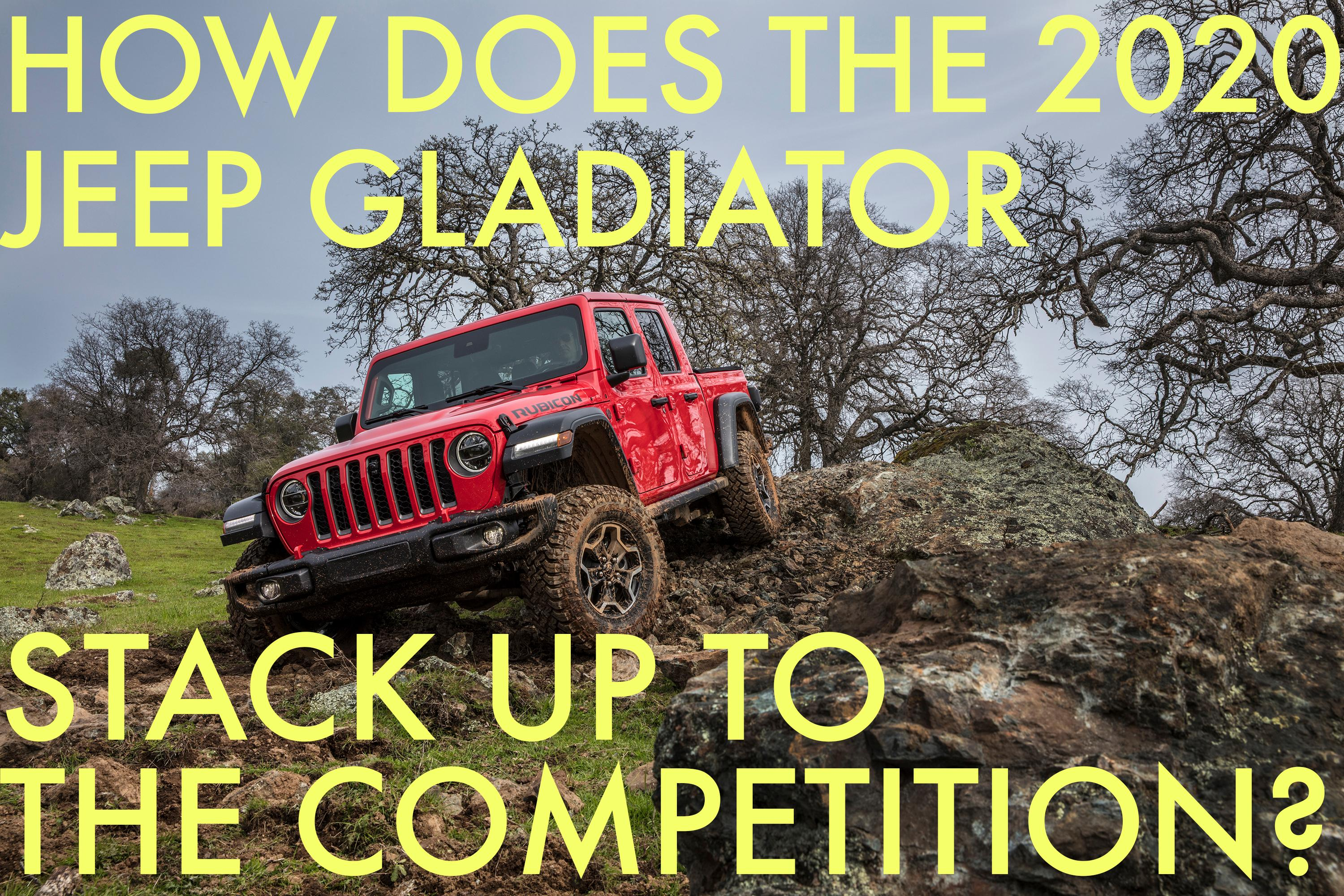 2020 Jeep Gladiator Reviews | Price, specs, features and