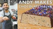 Andy Makes Salted Chocolate Halva