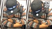 Futuristic hat is perfect for sleepy commuters