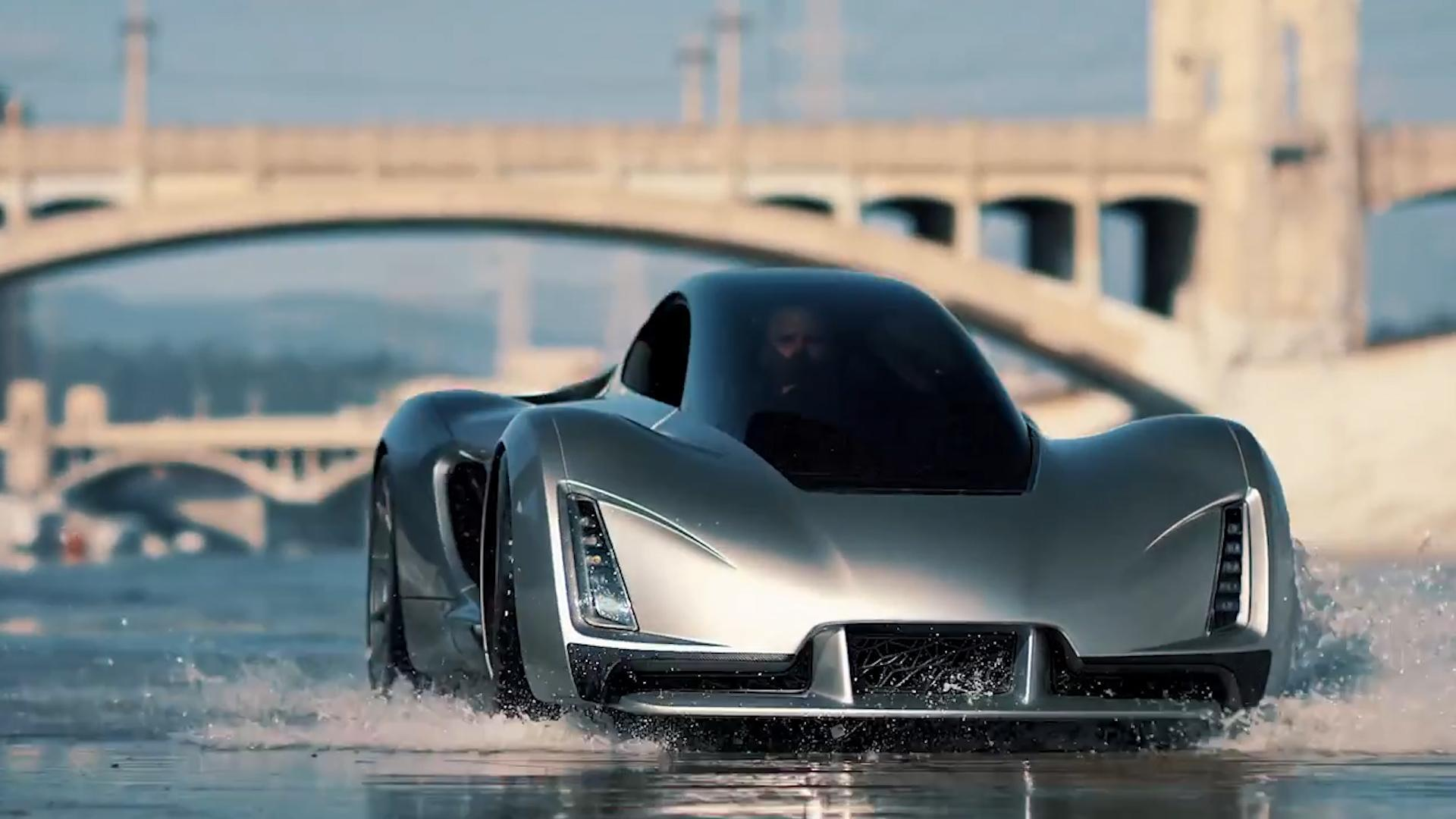 Here is the world's first 3D printed hypercar