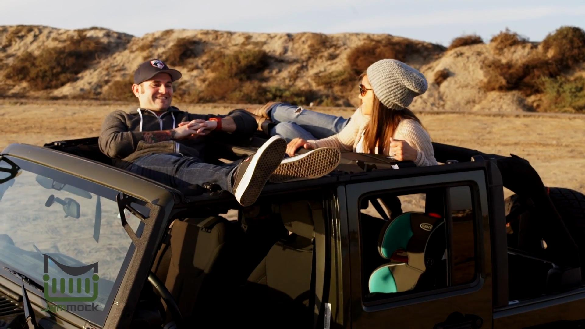 This hammock could be the perfect accessory for your Jeep