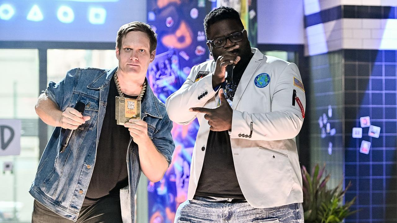 MC Lars & Mega Ran Perform For BUILD Series NYC