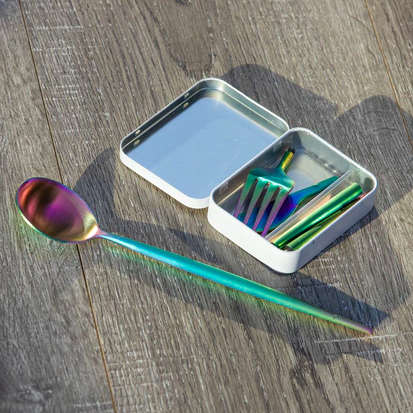 This is the world's smallest cutlery set