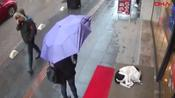This Dog Was Shivering In The Street - Then The CCTV Captured Something Amazing