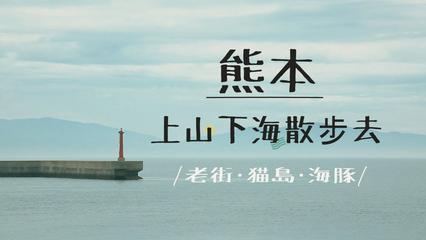 鏡食旅》上山下海散步去 熊本的老街、貓島、海豚