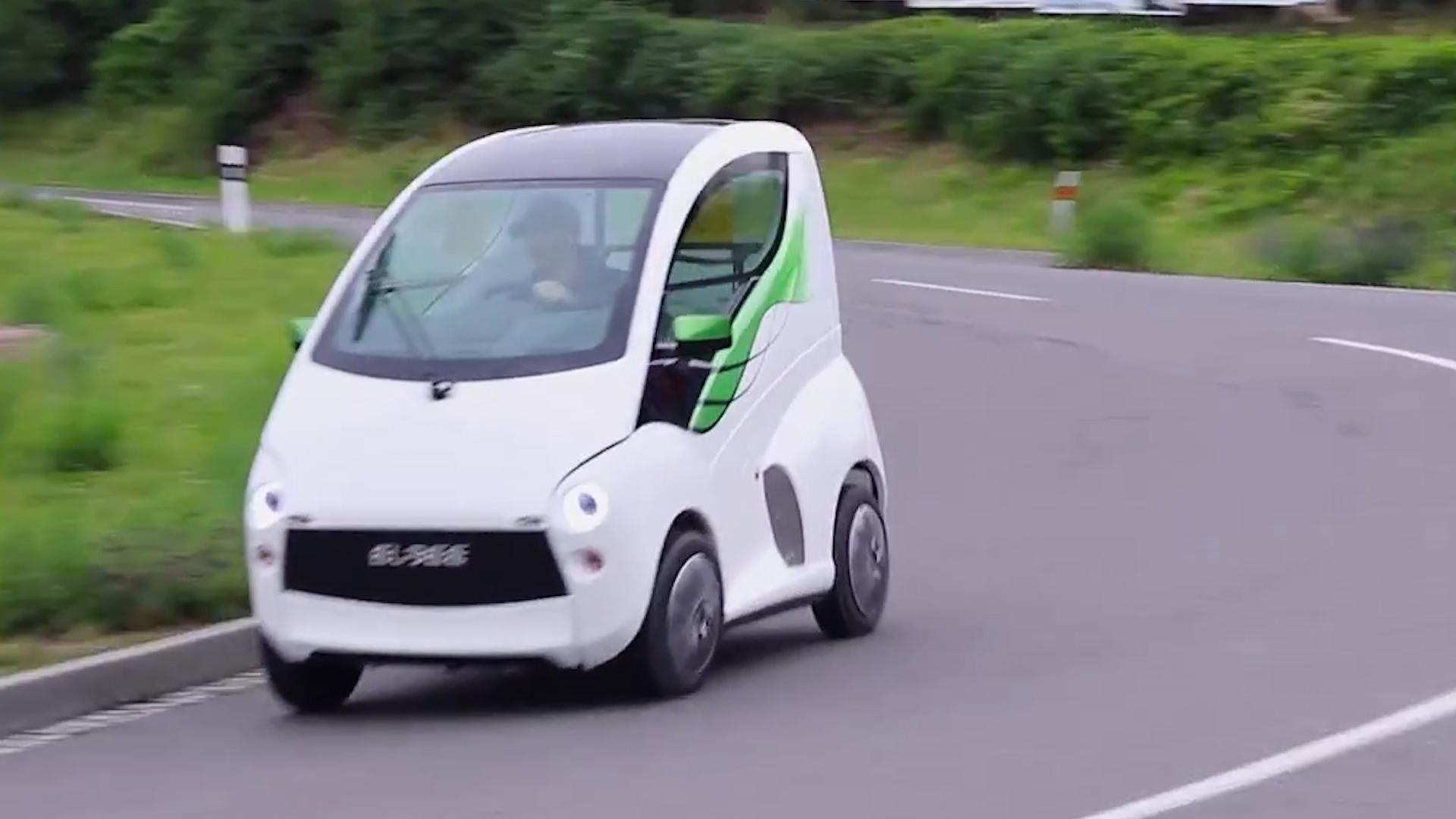 This tiny car is wheelchair compatible