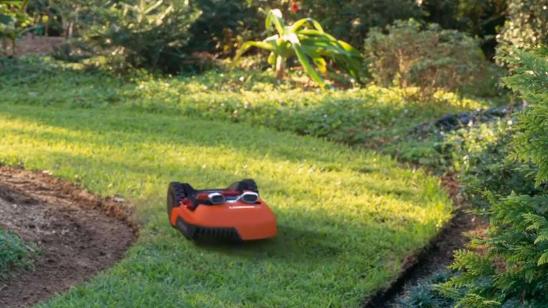 This little bot is basically a Rumba for your lawn