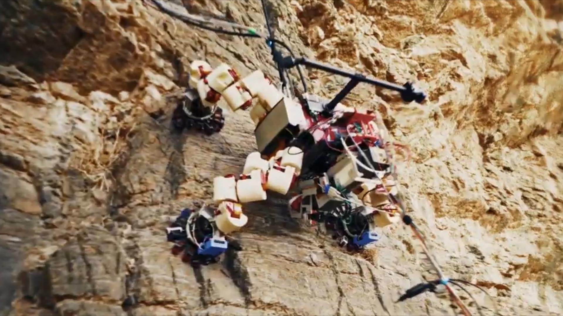 NASA's climbing robot will look for life on other planets
