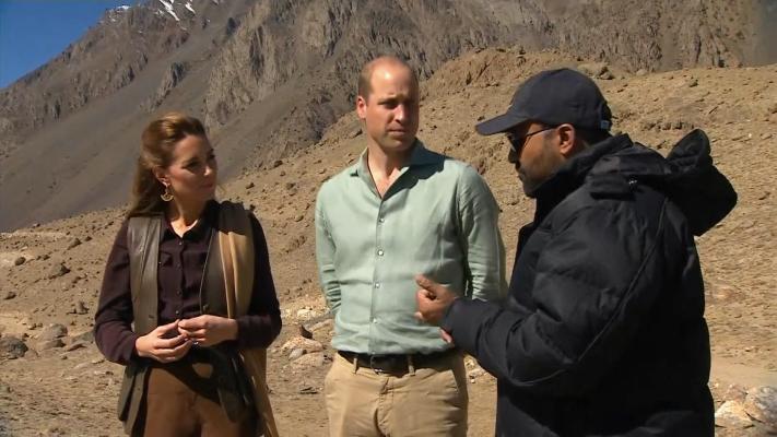 Prince William, Kate Middleton Visit Himalayans In Pakistan
