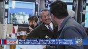President Trump Challenger Mark Sanford Stops In Pittsburgh