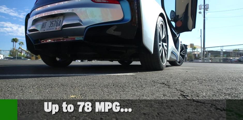 Bmw I8 Hybrid Supercar Techcrunch