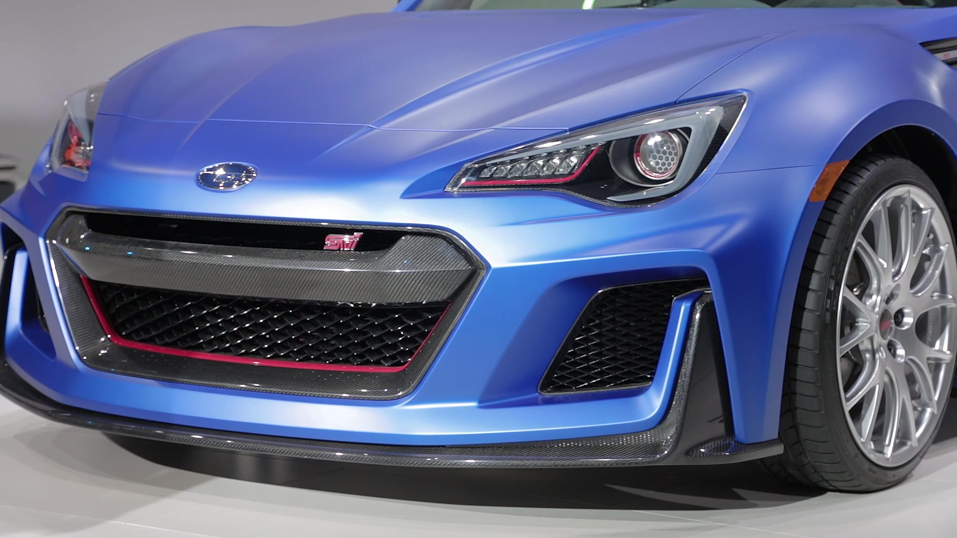 Subaru S Brz Sti Sport Concept Is Not Quite What We Ve Been Waiting For