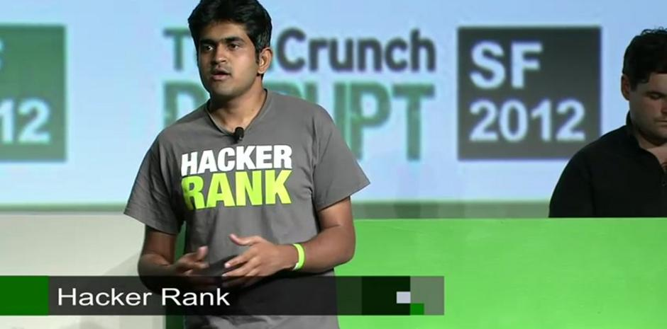Hacker Rank Presents During Startup Battlefield, Session Five: