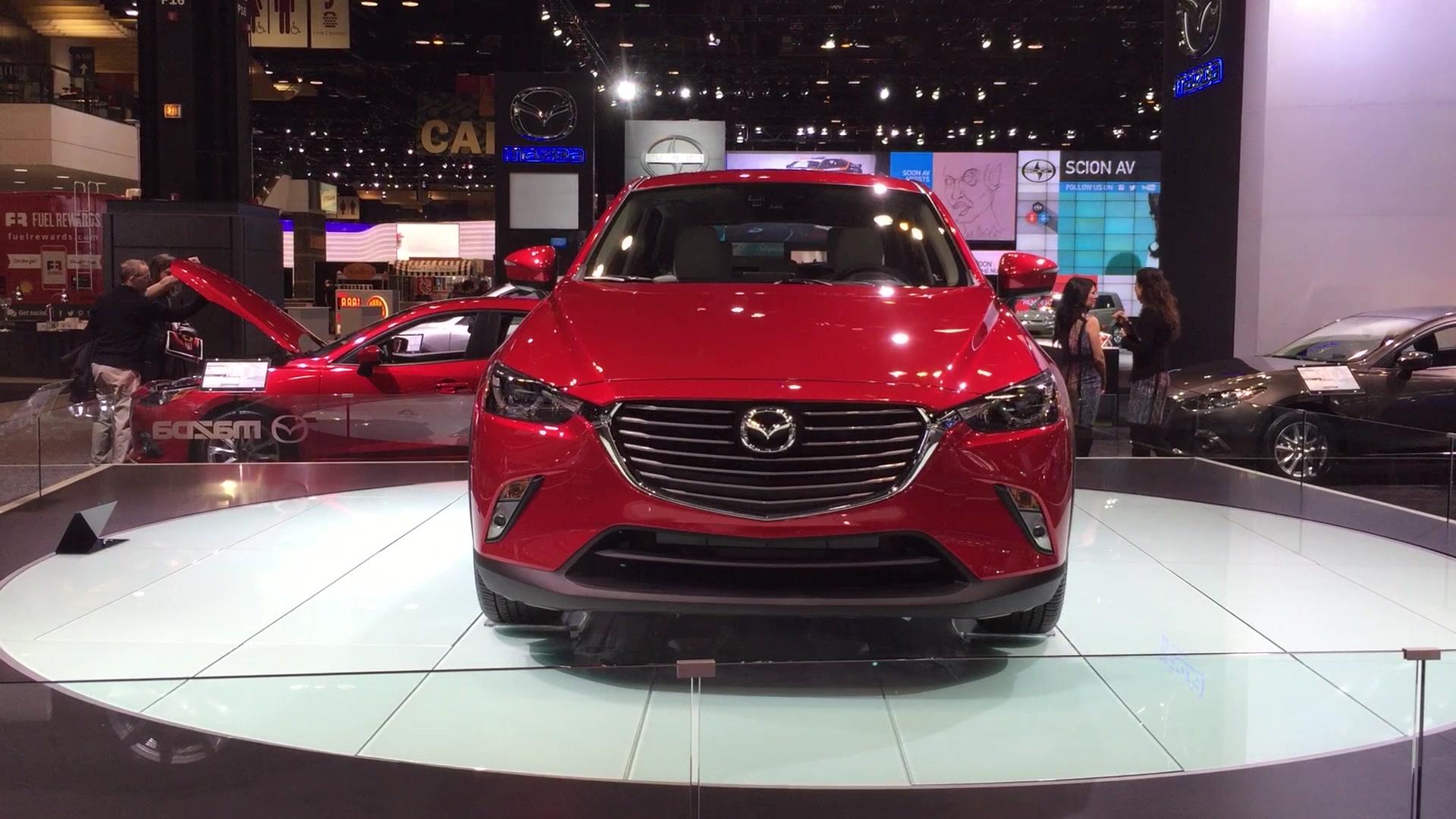 Mazda3 five-door vs. Mazda CX-3   Autoblog
