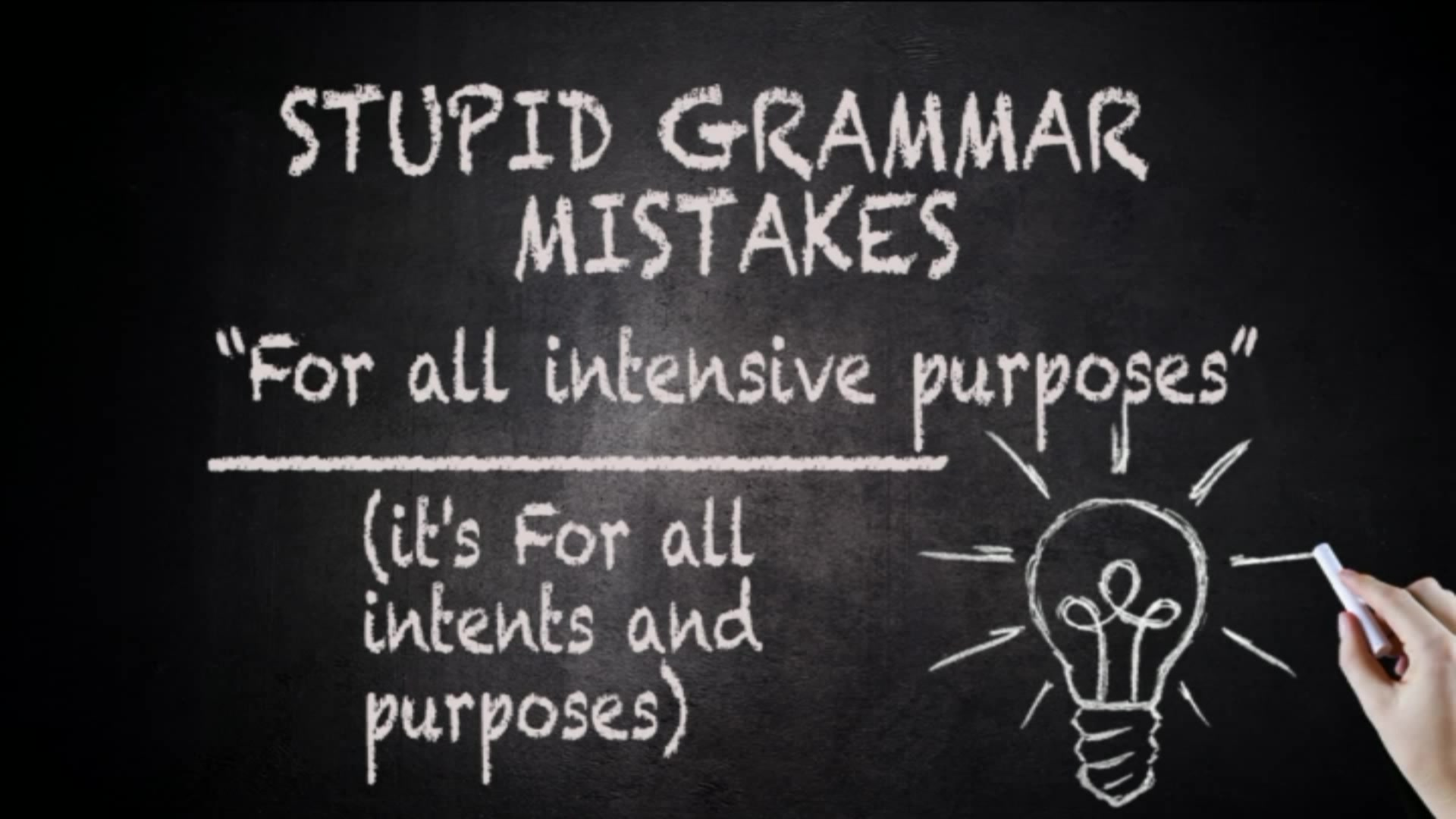 Here are the top 10 grammar mistakes people make ...