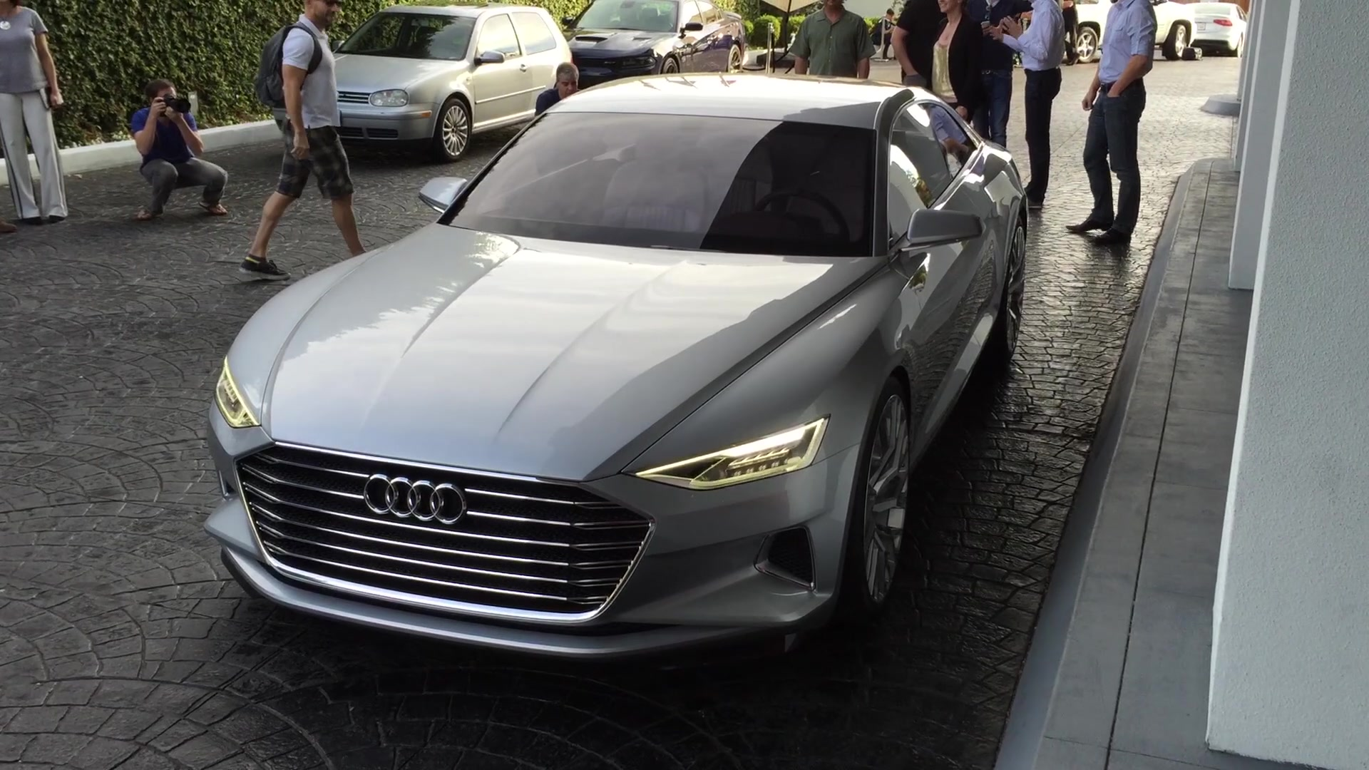 Audi A8 Sort Of Debuts At Spider Man Homecoming Premiere Autoblog