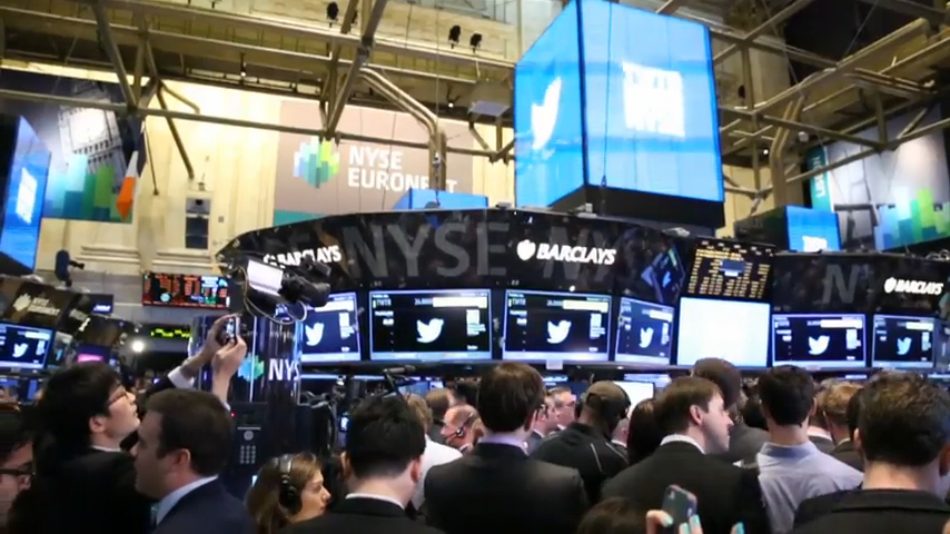 Twitter IPOs Amidst the Chaos of the NYSE Floor