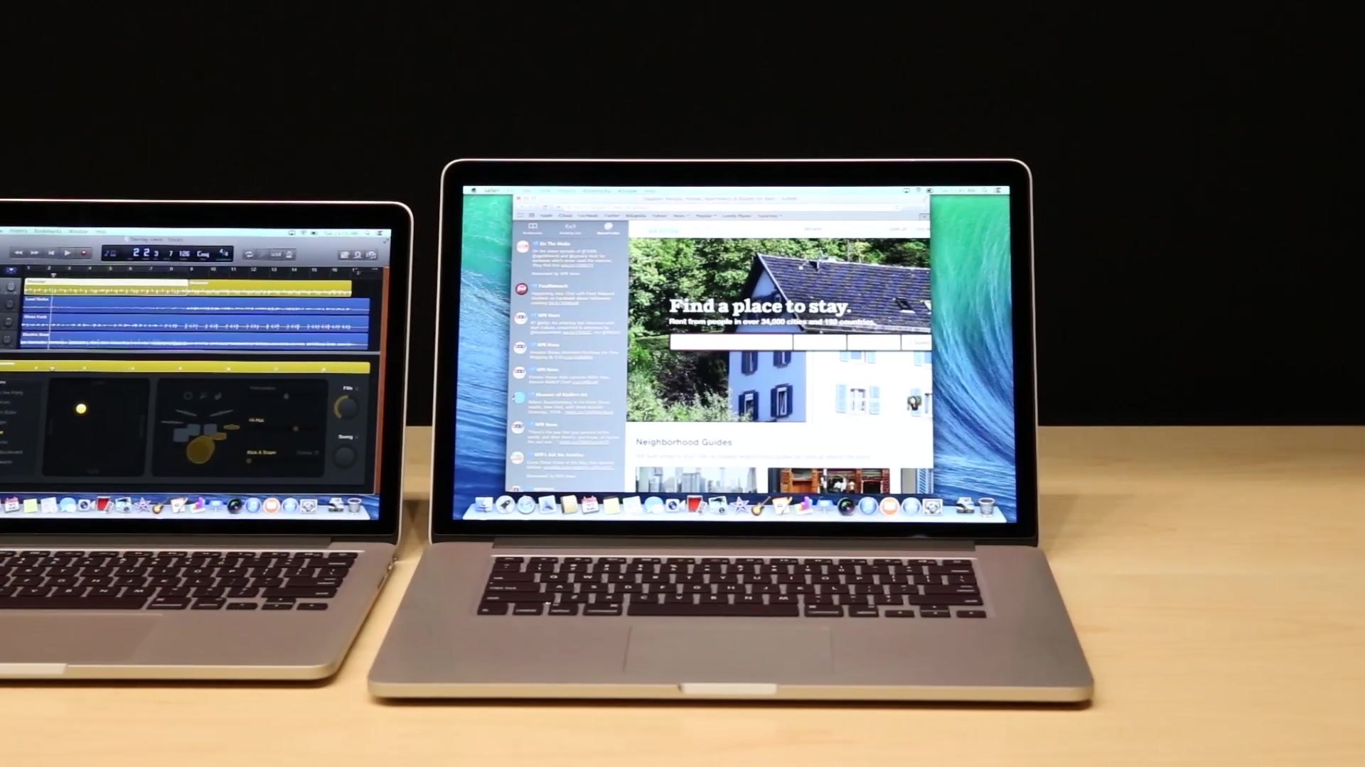 Apple's New Retina MacBook Pro Line Hands On