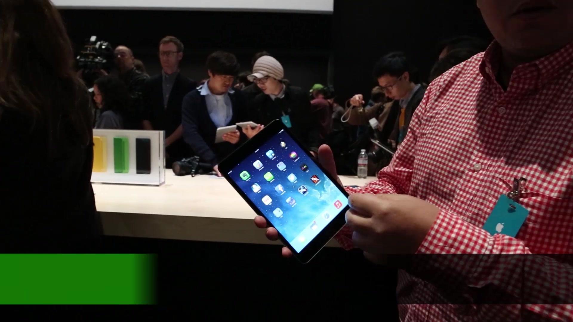 iPad Mini Retina Hands On