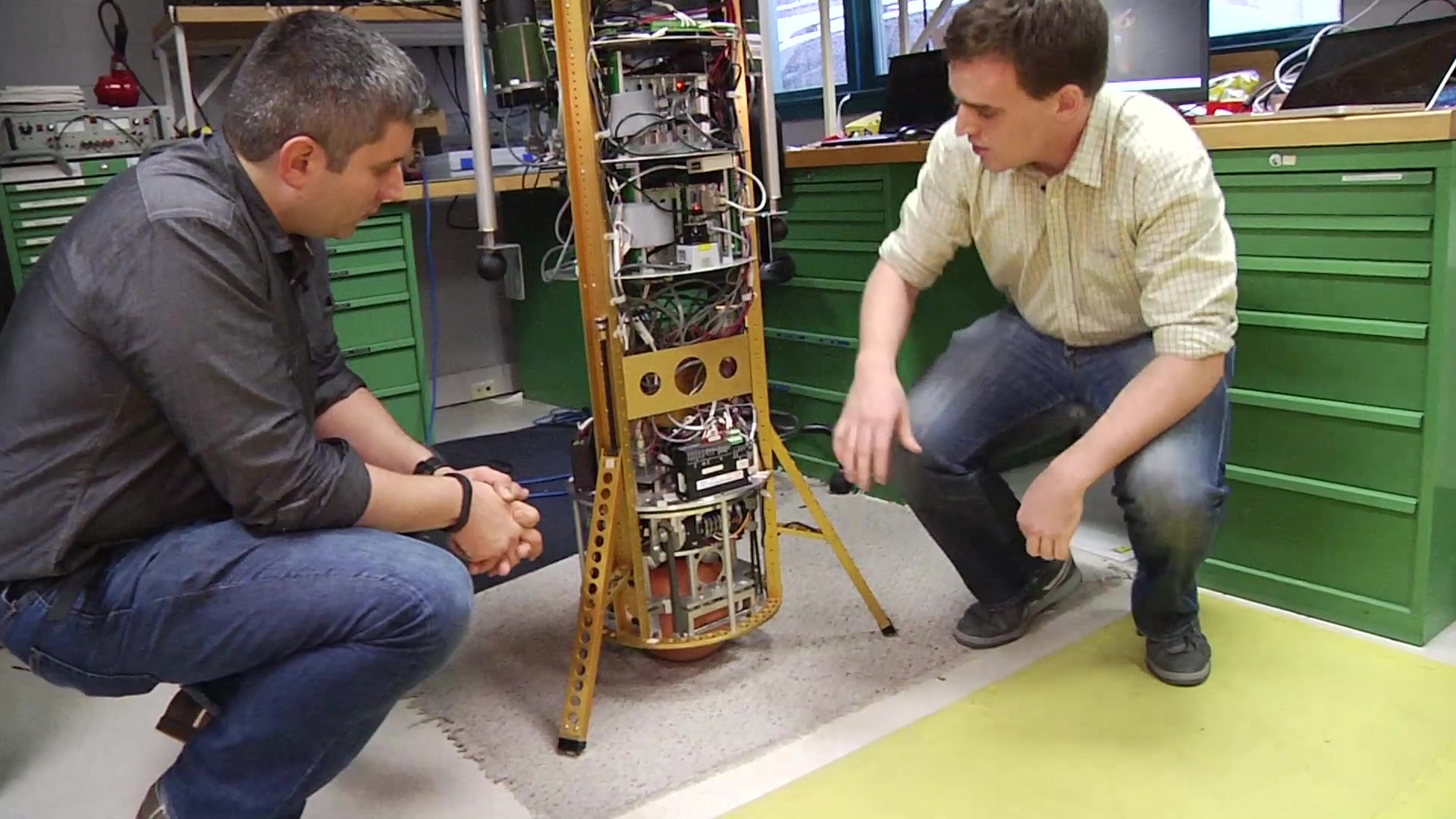 TechCrunch Makers: Ballbot at CMU's Robotics Institute