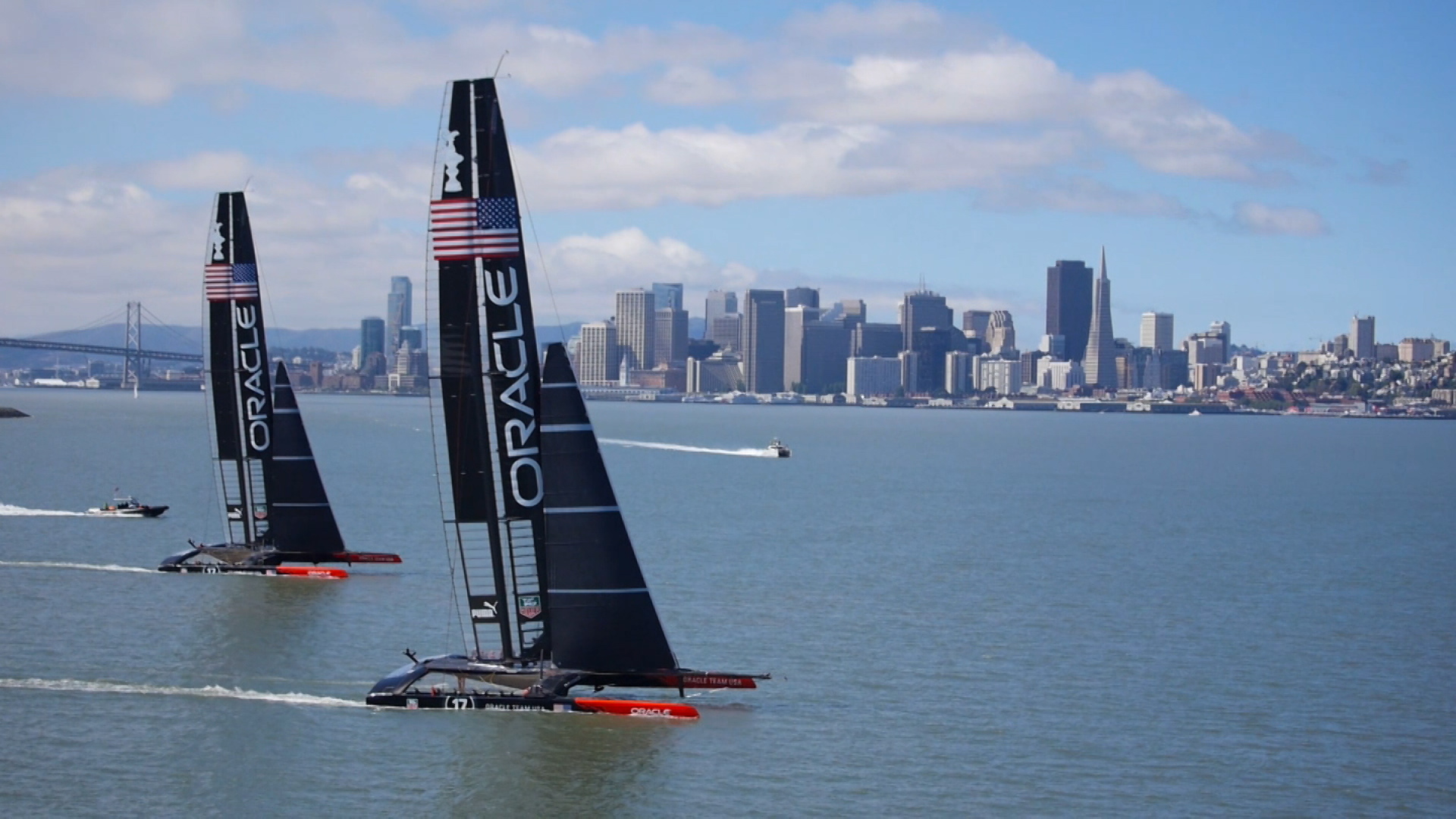 The Visualization Technology Behind The America's Cup