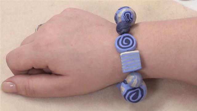 How to Make a Fimo Bead Bracelet