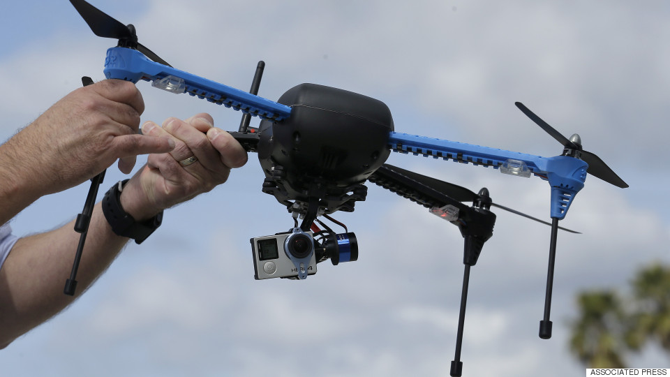How Drones Are Changing The Landscape Of Photography, Film & Graffiti