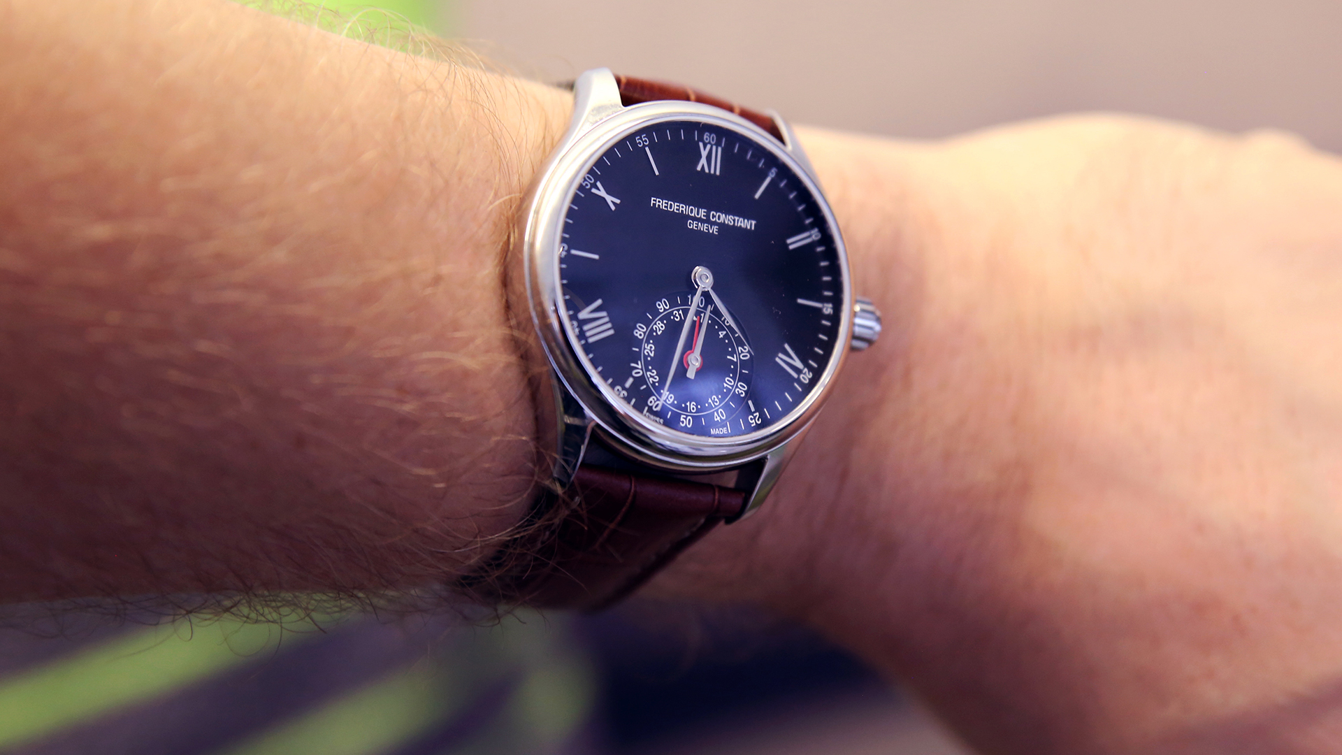 Frederique Constant Smartwatch | Fly or Die