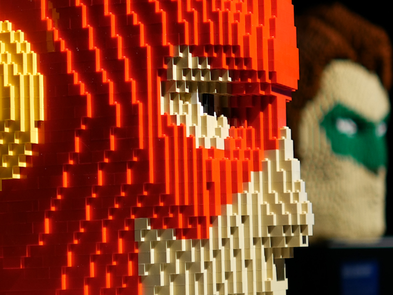 Lego - The Art Of The Brick: DC Comics