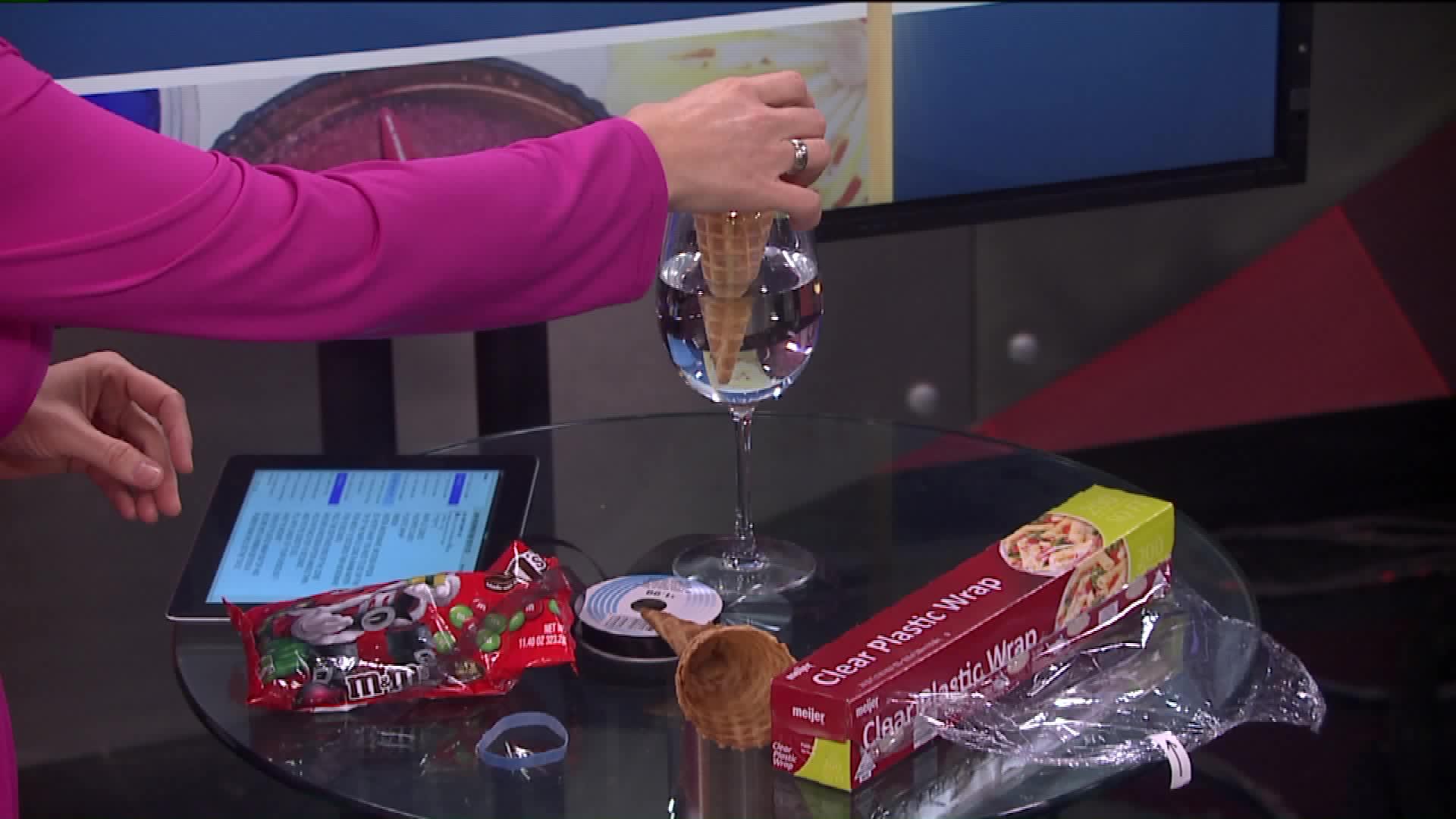 How To Make A Candy Cornucopia