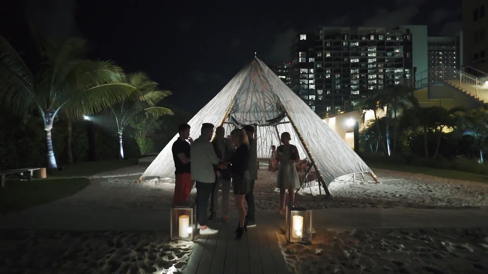 AD Kicks Off Art Basel Miami Beach with a Swinging Celebration