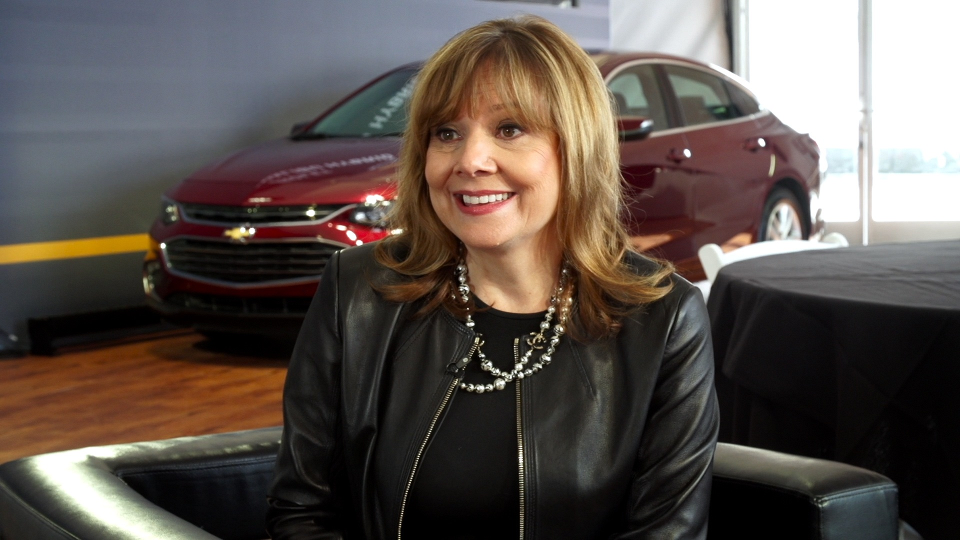 General Motor's CEO Mary Barra On Lyft And The Bolt EV