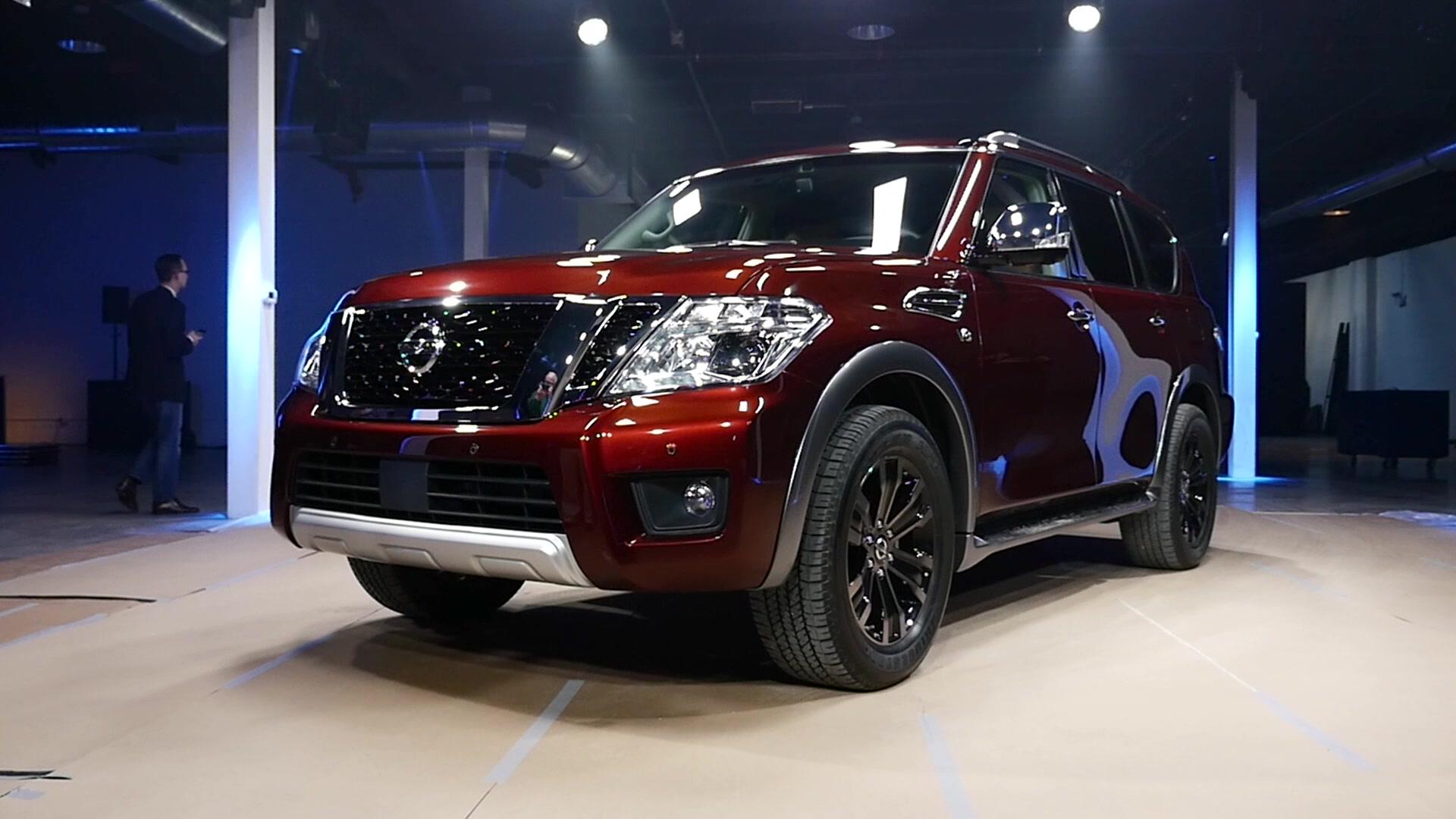 2018 Nissan Armada Platinum 4wd Review Autoblog