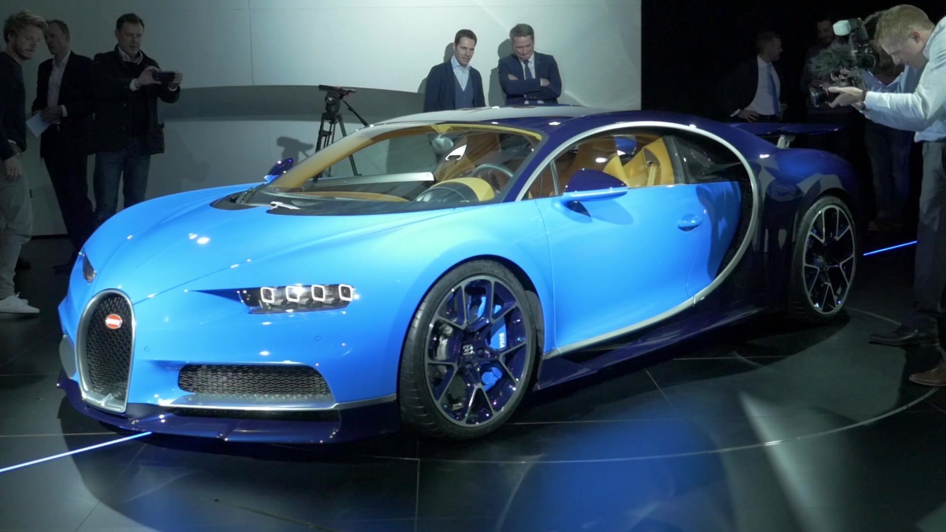 Bugatti Chiron Sport Introduced In Geneva Improves Handling, Not Much Else  - Autoblog