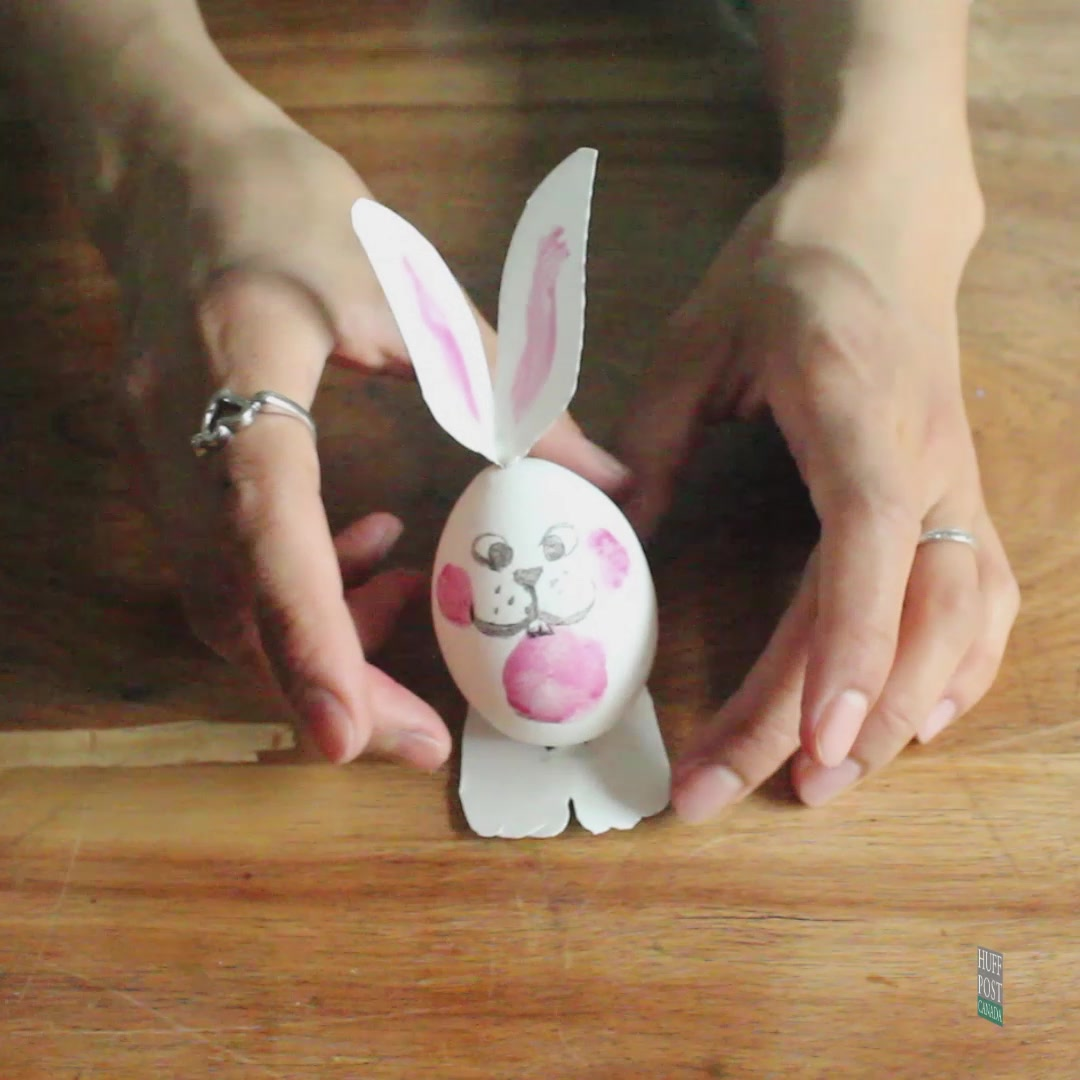 How To Turn Ordinary Eggs Into Extraordinary Easter Bunnies