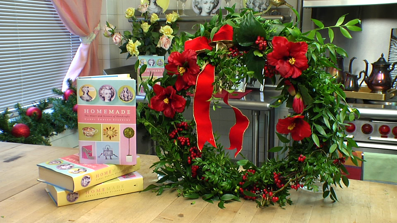 How-To Make a Holiday Wreath