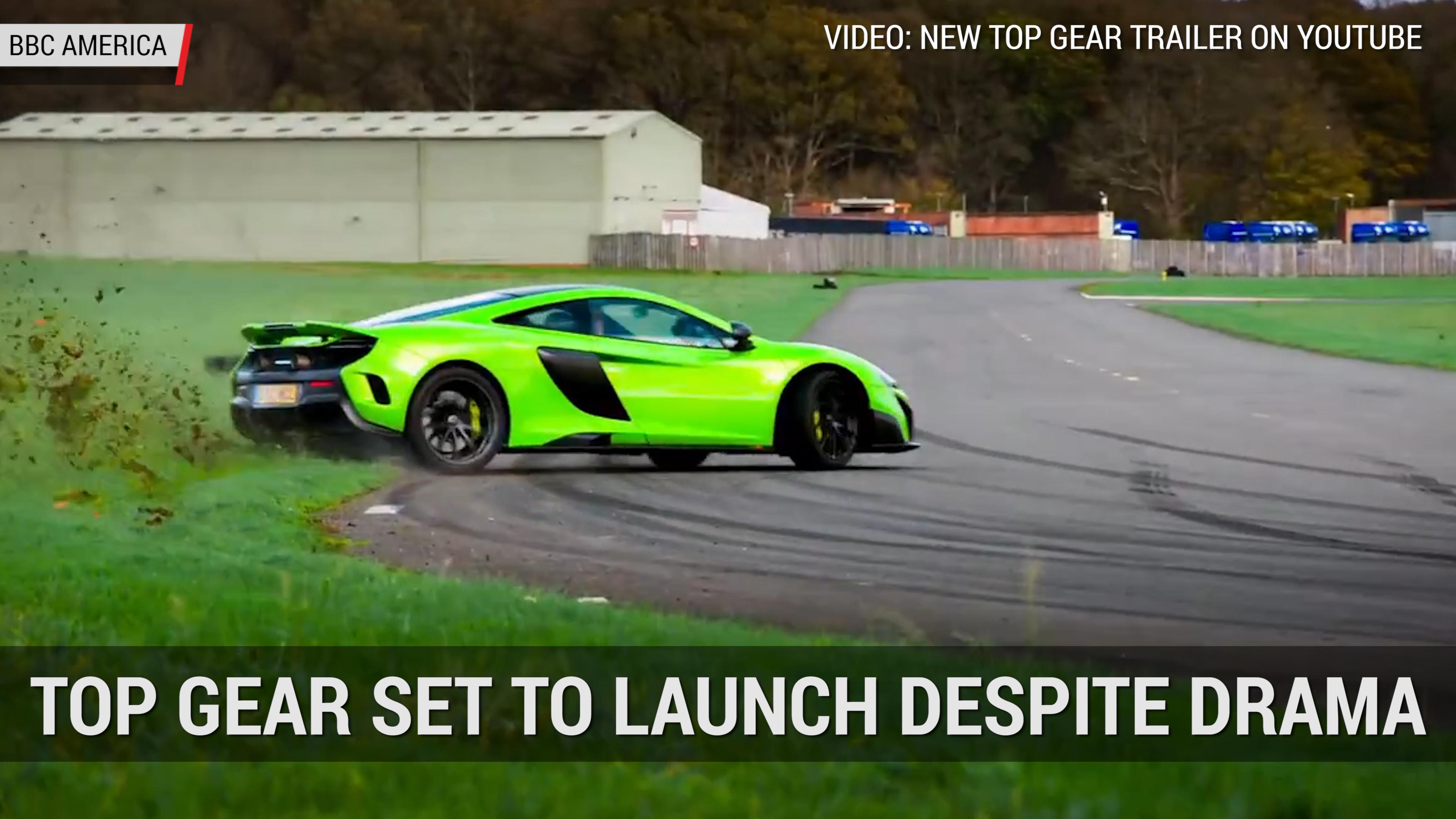 Top Gear S Latest Trailer Shows Off A Golden Bugatti Chiron Autoblog