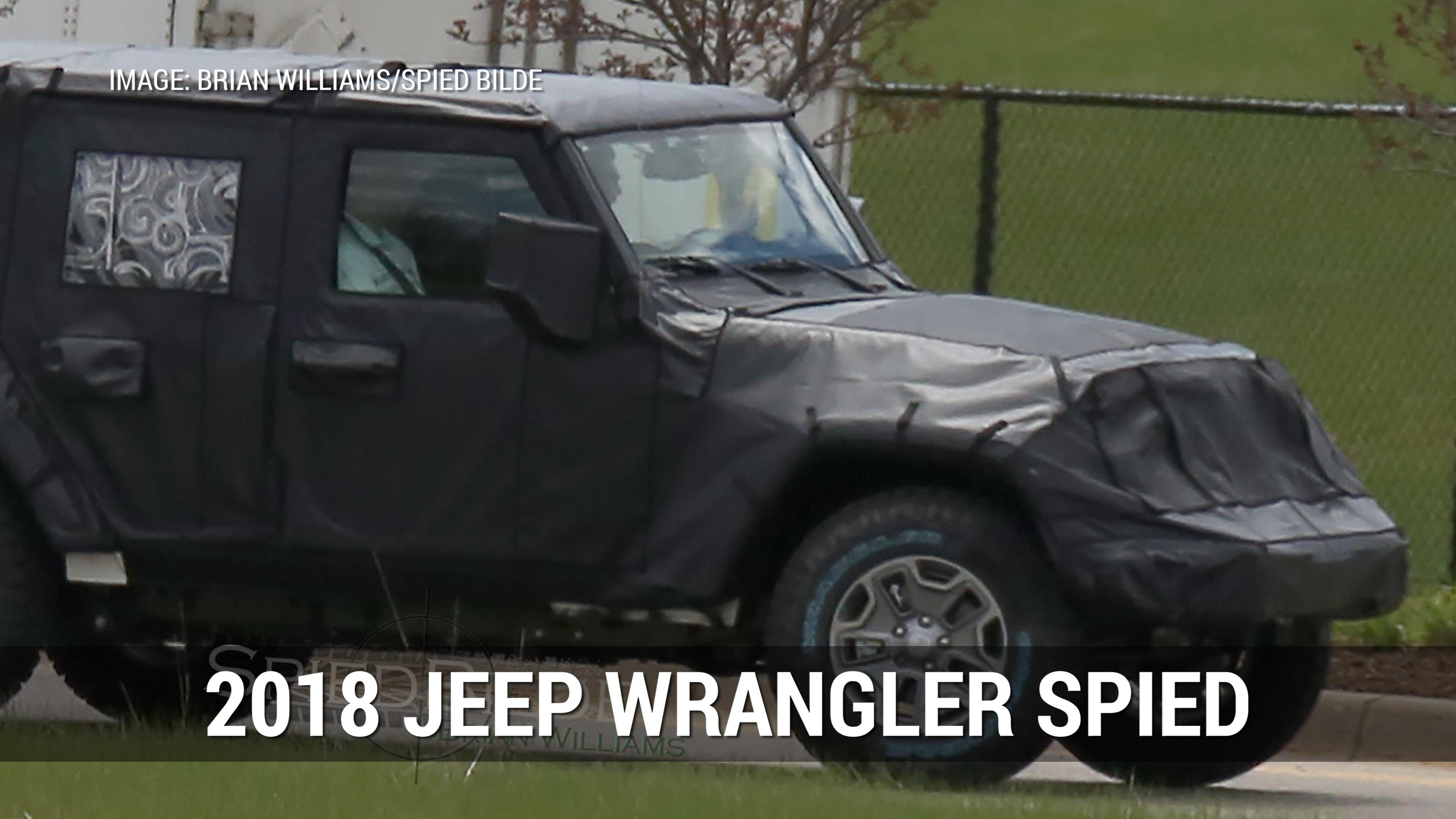 Stop waiting for the official Wrangler pickup and one of the