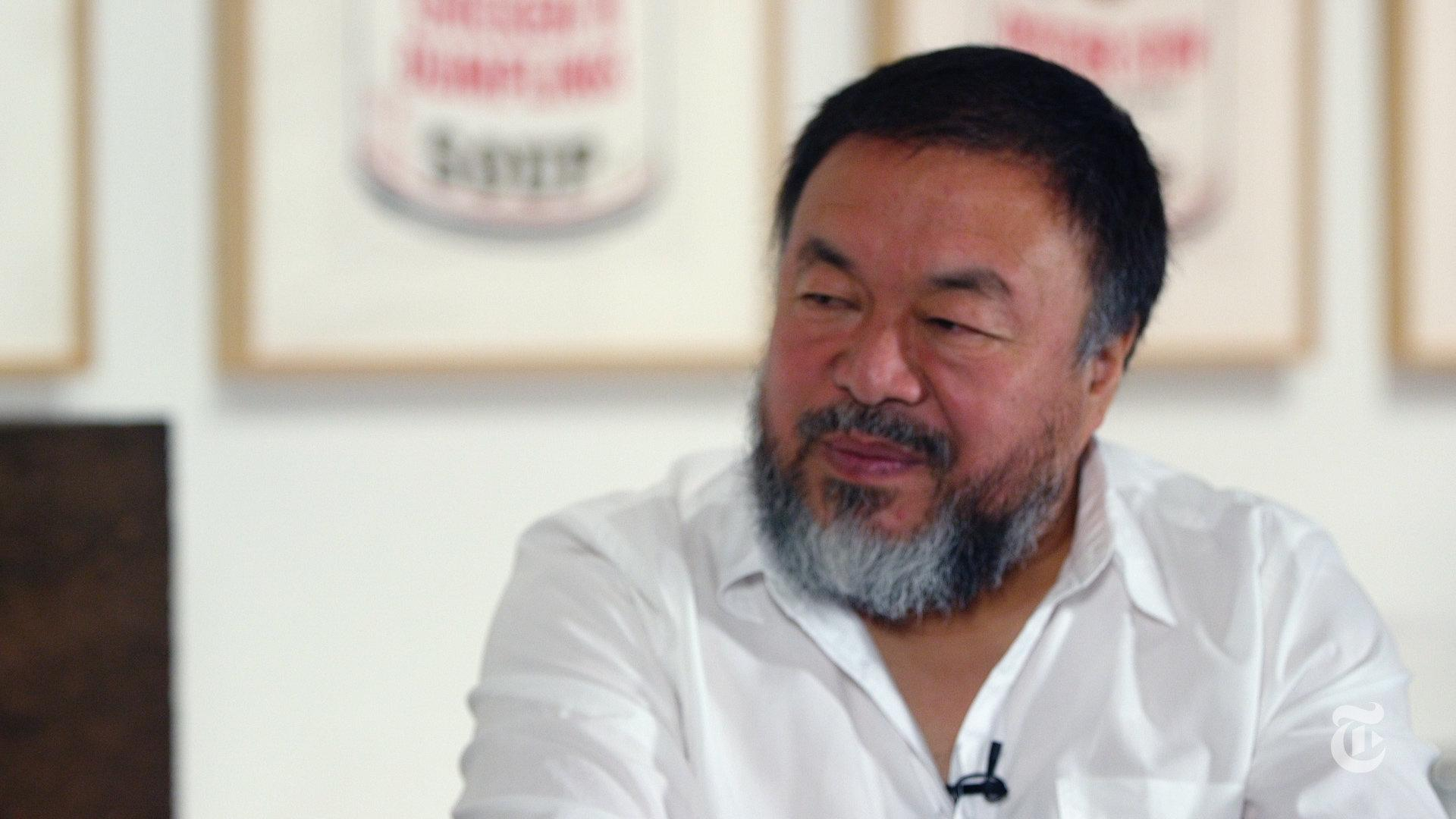 The New York Times: Ai Weiwei and Andrew Jacobs Talk Warhol