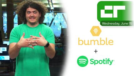 Bumble Partnering with Spotify | Crunch Report