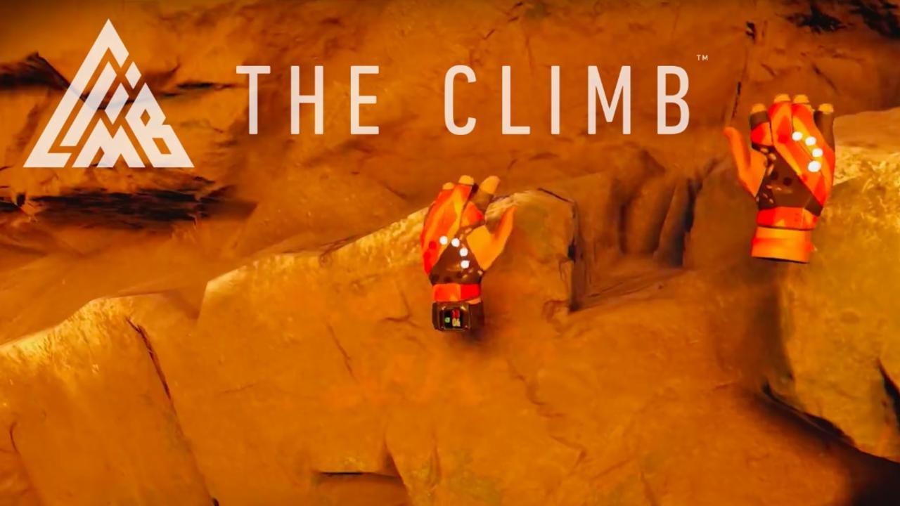 The Climb on Oculus VR